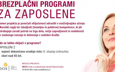 Brezplačni programi za zaposlene