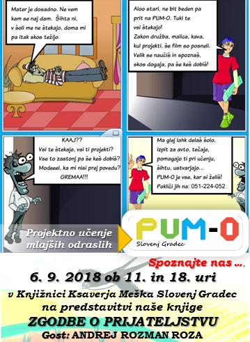 Oglas VEČER Koroška PUM